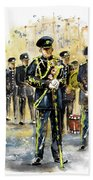 Raf Military Parade In York Hand Towel
