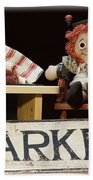 Raggedy Ann Selling Raspberries Bath Towel
