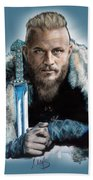 Ragnar Lothbrok Bath Towel