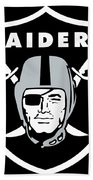Raiders  Bath Towel