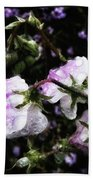 Rain Kissed Petals. This Flower Art Bath Towel
