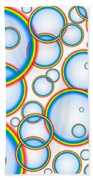 Rainbow Bubbles Bath Towel