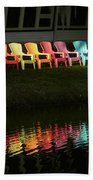 Rainbow Chairs  Bath Towel