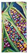 Rainbow Corn Bath Towel