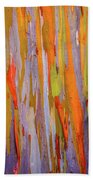 Rainbow Eucalytpus Bath Towel