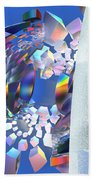 Rainbow Roller Coaster Ride By Jammer Hand Towel