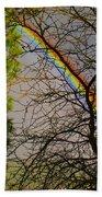 Rainbow Tree Bath Towel