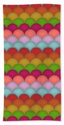 Rainbow Unicorn Scales Bath Towel