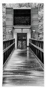 Rainy Day At Crystal Bridges Bath Towel