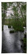 Rainy River. Koirajoki Bath Towel