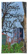 Raleigh - View From Chavis Park Hand Towel