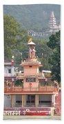 Ram Statue - Rishikesh India Bath Towel