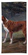 Ranger A Setter The Property Of Elizabeth Gray Bath Towel