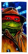 Raphael Ninja Turtle Bath Towel