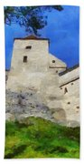 Rasnov Fortress Bath Towel