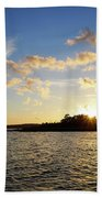 Raumanmeri Sunset Bath Towel