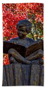 Reading Boy - Santa Fe Bath Towel