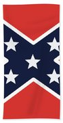 Rebel Flag Hand Towel