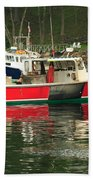 Red Boat Hand Towel