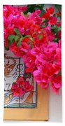 Red Bougainvilleas Hand Towel