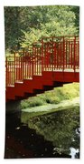 Red Bridge  Bath Towel