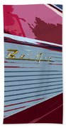 Red Chevy Bath Towel