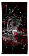 Red City Hand Towel