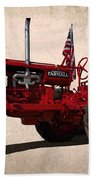 Red Farmall Tractor Bath Towel
