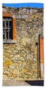 Red Gate, Stone Wall Bath Towel