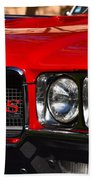 Red Gs Bath Towel