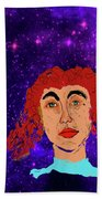 Red Head1 Hand Towel