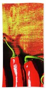 Red Hot Chili Peppers  Hand Towel
