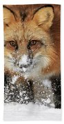 Red Hunter Bath Towel