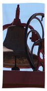 Red Iron Bell Bath Towel