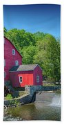 Red Mill Of Clinton New Jersey Bath Towel