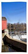 Red Mill Bath Towel