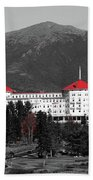 Red Mount Washington Resort Bath Towel