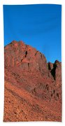 Red Mountains Bath Towel