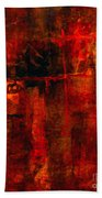 Red Odyssey Bath Towel