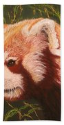 Red Panda 2 Bath Towel