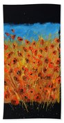 Red Poppies 6771 Bath Towel