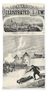 Red River Rebellion, 1870 Bath Towel