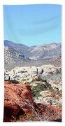Red Rock Canyon Nv 8 Bath Towel