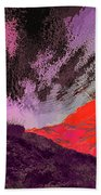 Red Rock Canyon Bath Towel