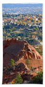 Red Rock Canyon Rock Quarry And Colorado Springs Bath Towel