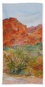 Red Rock Canyon Bath Towel