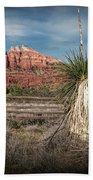 Red Rock Formation In Sedona Arizona Bath Towel