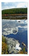 Red Rock Lake Fall Study 2 Bath Towel