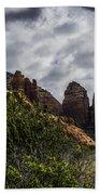 Red Rock Landscape From Sedona Arizona Bath Towel