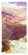 Red Rock Bath Towel